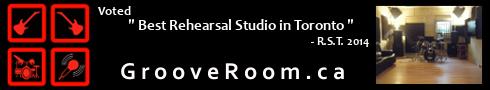 Groove Room Toronto Rehearsal Studios